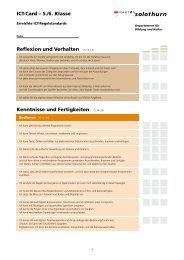 ICT-Card – 5./6. Klasse Reflexion und Verhalten (S.12–13 ...