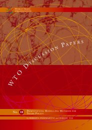 Cover_DP 10.indd - World Trade Organization