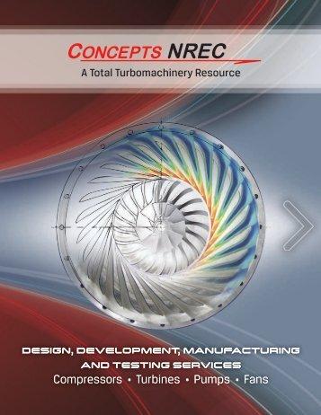 Compressors • Turbines • Pumps • Fans ... - Concepts NREC