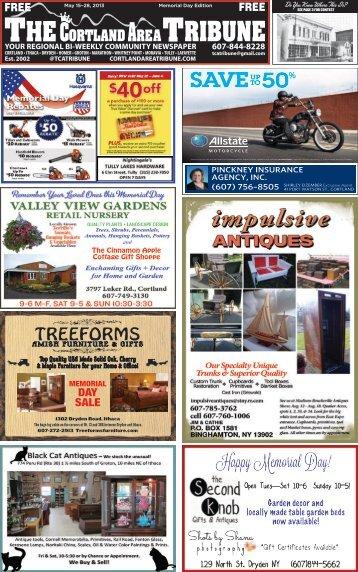 May 15-28, 2013 – Memorial Day Edition - The Cortland Area Tribune