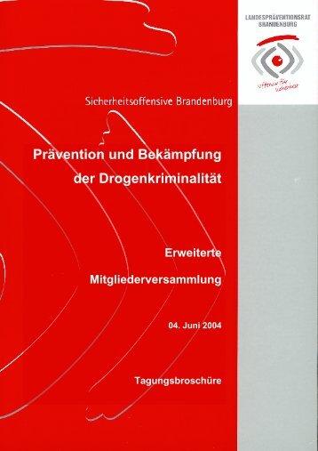 Prävention und Bekämpfung der Drogenkriminalität