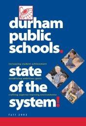 f a l l 2 0 0 2 - Durham Public Schools