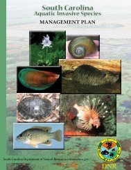 South Carolina aquatic Invasive Species Management Plan