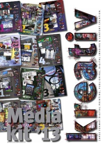 Fachzeitschrift für Large Format Printing, Publishing ... - Kreativ-News