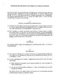 Verordnung über den Schutz von Findlingen im Landkreis Ammerland