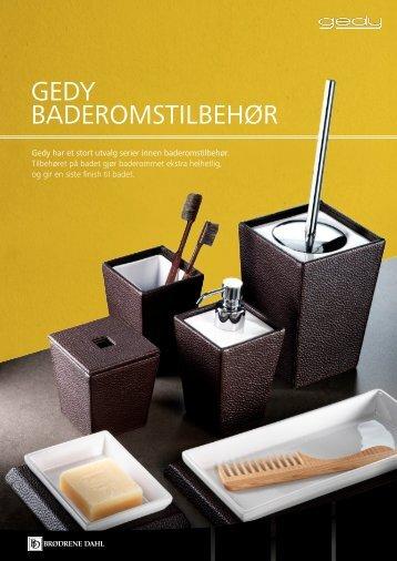 GEDY BADEROMSTILBEHØR