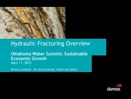 Hydraulic Fracturing Overview - Oklahoma Academy