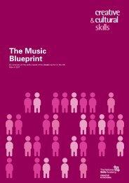 The Music Blueprint - MusicTank