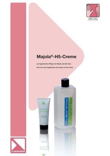 Majola®-H5-Creme - LYSOFORM Dr. Hans Rosemann GmbH