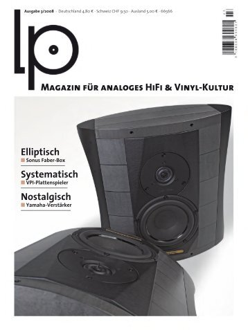 Magazin für analoges HiFi & Vinyl-Kultur Elliptisch ... - Fonè