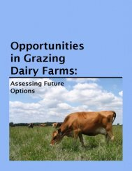 Dairy farms are a vital part of Michigan's agricultural economy and ...