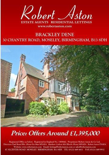 brackley dene 30 chantry road, moseley, birmingham, b13 8dh - ISSL