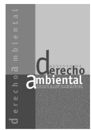 Revista de Derecho Ambiental CDA N° 1 (2003)