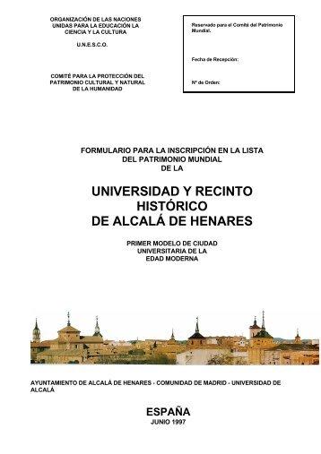 Descargar documento Patrimonio de la Humanidad en PDF