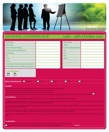 Booking Form & Fees - The Lesotho Institute of Accountants