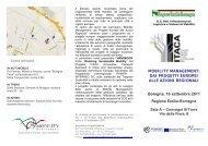 Programma invito convegno - Tecnologie Pulite