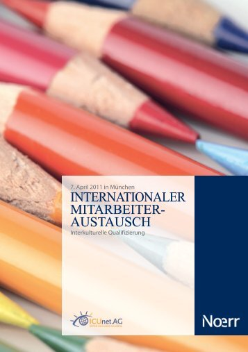 INTERNATIONALER MITARBEITER- AUSTAUSCH - ICUnet.AG