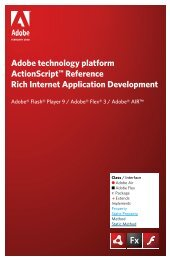 ActionScript reference for RIA development - Simon Whatley