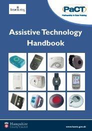 Download the Assistive Technology Handbook