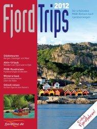 Städtetouren Aktiv-Urlaub PKW-Rundreisen ... - Fjord Line