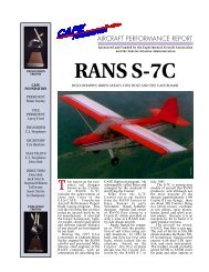RANS S-7C - CAFE Foundation