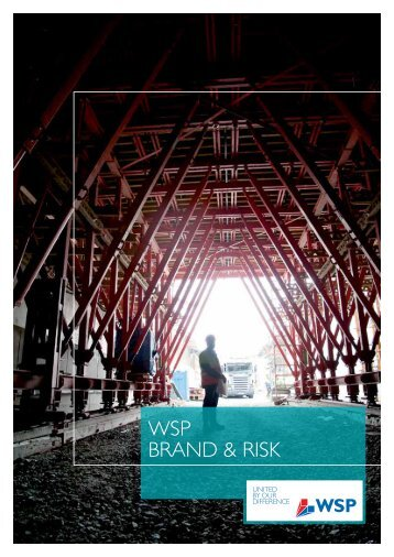 WSP Brand & Risks broschyr - WSP Group