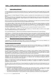 cadre juridique et financier et faits caracteristiques de l'exercice