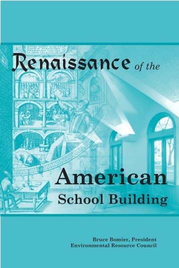 Renaissance of the American School Building. - National ...