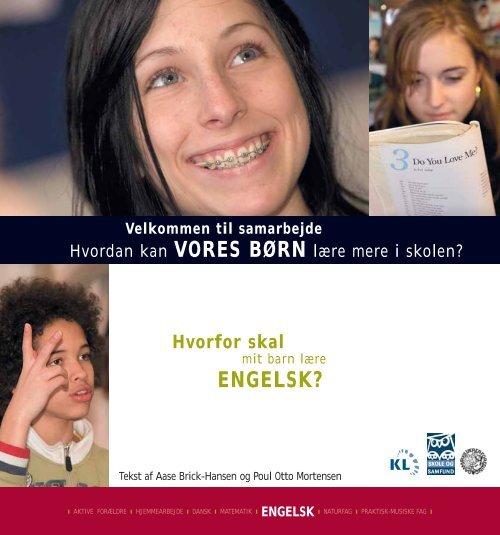 Hvorfor skal mit barn lære engelsk? - Skole og Forældre
