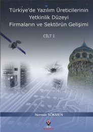 Türkiye'de Yazılım Üreticilerinin Yetkinlik Düzeyi, Firmaların ve ...