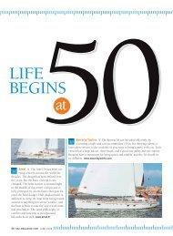 LIFE BEGINS - Sail Magazine
