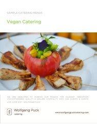 Vegan Catering Menus - Wolfgang Puck