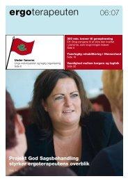 [pdf] ergoterapeuten - Ergoterapeutforeningen