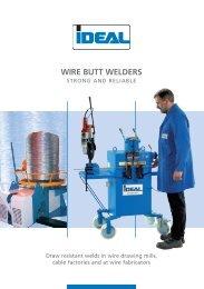 BUTT WELDER - IDEAL-Werk C. + E. Jungeblodt GmbH + Co. KG