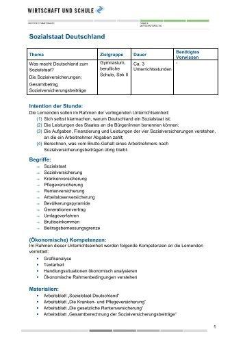 """Arbeitsblatt """"Verdienstabrechnung"""" - Wirtschaft und Schule"""