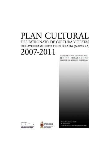 PROYECTO TESINA. ok000 - Máster en Gestión Cultural :: música ...