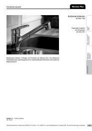 Küchenarmaturen - Ideal Standard