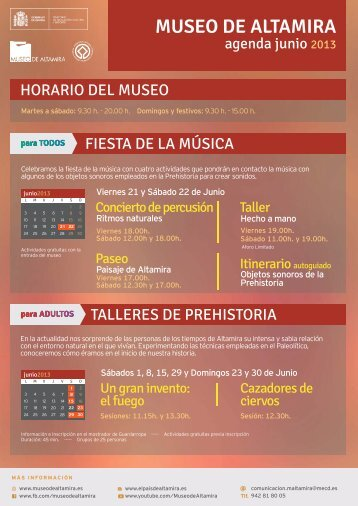 Junio 2013 - Museo de Altamira