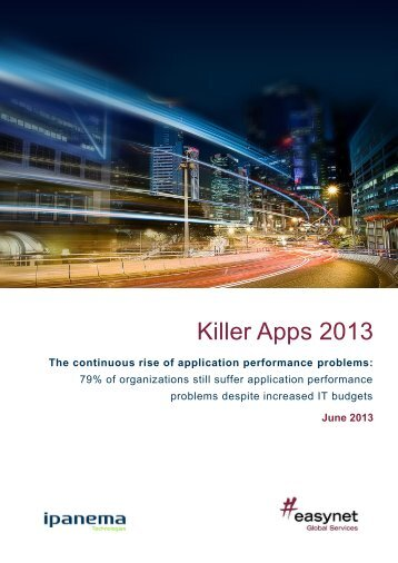 Killer Apps 2013 - Ipanema Technologies