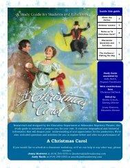 A Christmas Carol - Milwaukee Repertory Theater