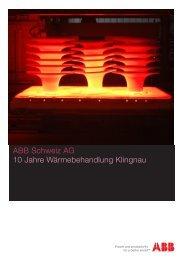 Programm - Schweizer Verband für Wärmebehandlung