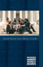 Jacob Burns Law Library Guide - George Washington University ...