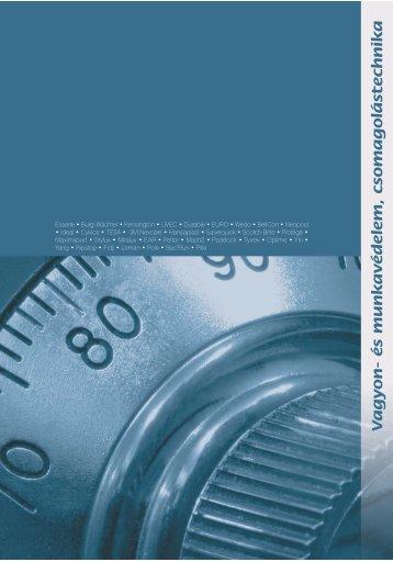 vagyon- és munkavédelem, csomagolástechnika