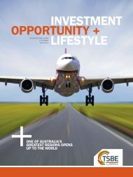 INVESTMENT OPPORTUNITY + LIFESTYLE