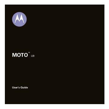 MOTO™ U9 - Virgin Media