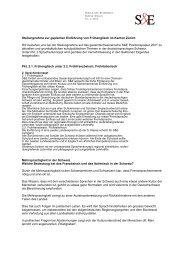 Stellungnahme zur geplanten Einführung von Frühenglisch im ...