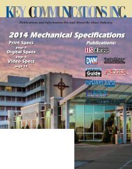 2013 Mechanical Specifications - DWMmag.com