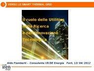 Verso le Smart Thermal Grid - Il Gruppo Hera