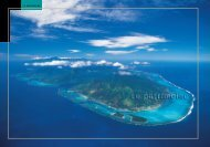 Le patrimoine - Direction de l'environnement de la Polynésie française