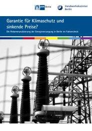 Garantie für Klimaschutz und sinkende Preise? - IHK Berlin